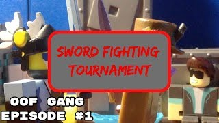 Sword fighting tournament (A Roblox stopmotion) (OOF gang #1) #RobloxToys