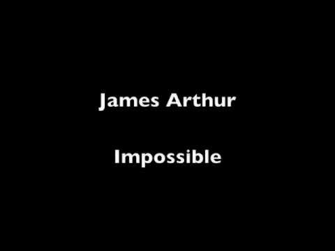 Impossible James Arthur Instrumental Acoustic - YouTube