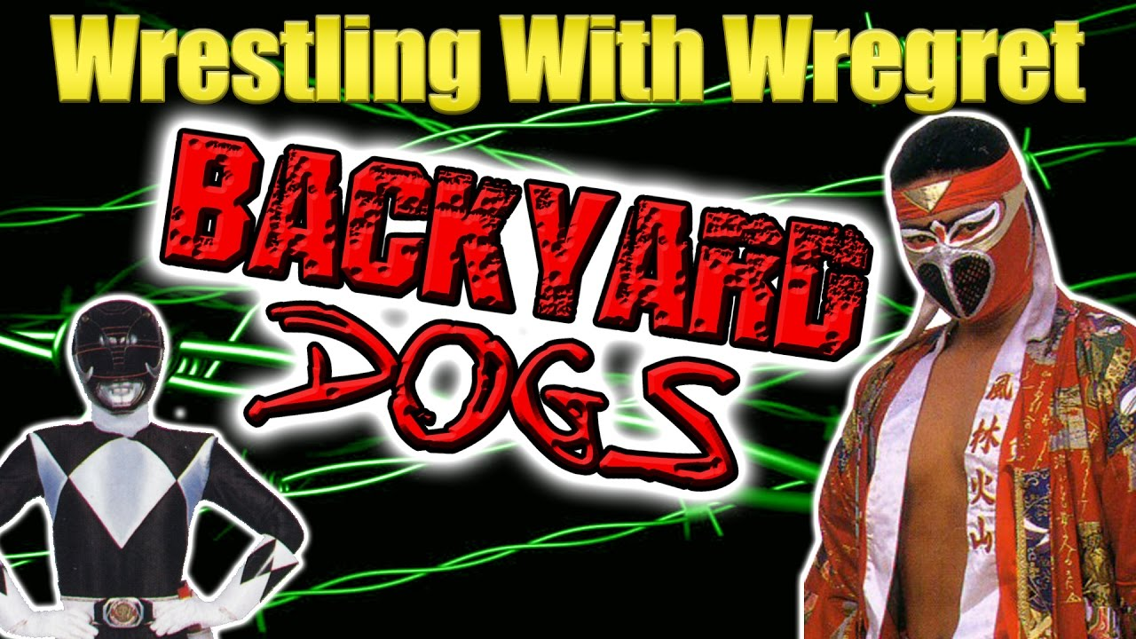 backyard dogs wrestling with wregret youtube