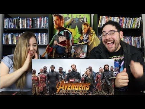 Avengers INFINITY WAR – Official Trailer 2 Reaction / Review