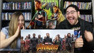 Avengers INFINITY WAR - Official Trailer 2 Reaction / Review