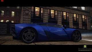 Need For Speed Most Wanted (2012) Bloody Nose - Marussia B2 Gameplay Video 720p FPS