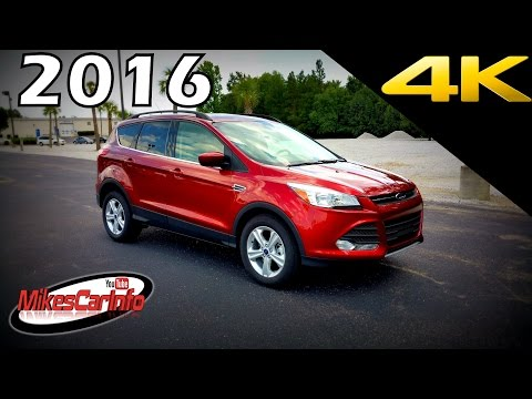 2016 Ford Escape SE - Ultimate In-Depth Look in 4k