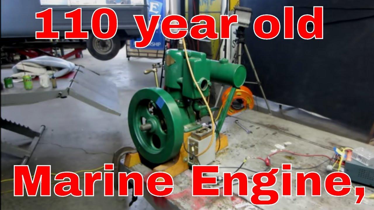 Antique Marine Engine You Wont Believe
