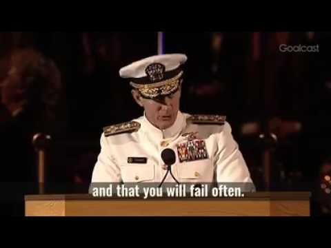 Motivationa speech by Navy Seal Commander