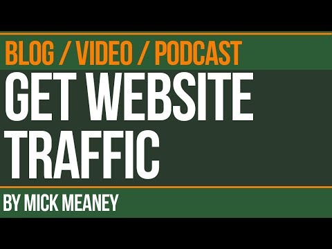 Get more website traffic with content Syndication