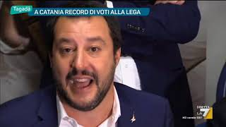 A Catania record di voti alla Lega