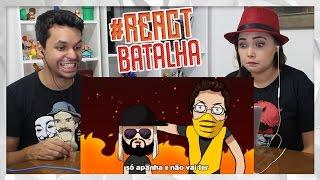REACT Lucas Inutilismo VS. Mussoumano | Batalha de Youtubers Animada (Mussoumano)