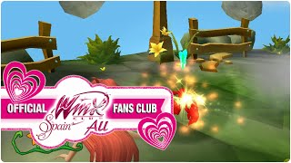 Winx Club PC Game - 4. Bloom looking for lost things of Stella and Flora