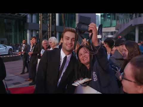 Mary Shelley: Douglas Booth Red Carpet Premiere Arrivals TIFF 2017