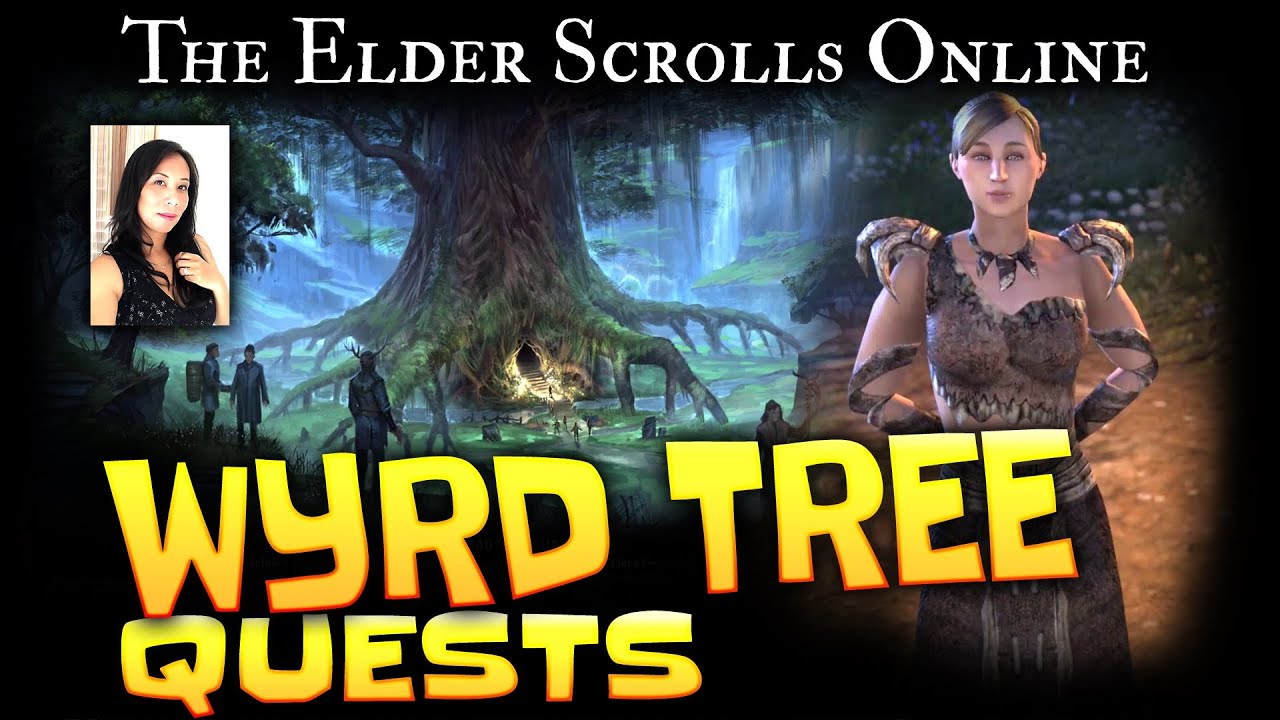 Elder Scrolls Online Quests Beldama Wyrd Tree Youtube