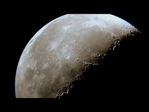 Любительское астрофото. Покадровое видео( таймлапсы) звёздного неба , планет, Луны и туманностей.