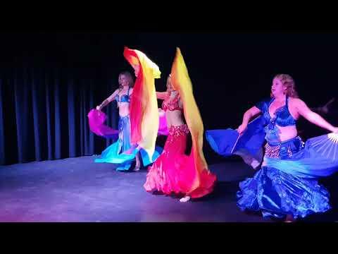 NEW! Fusion Flamenco Fan Veils