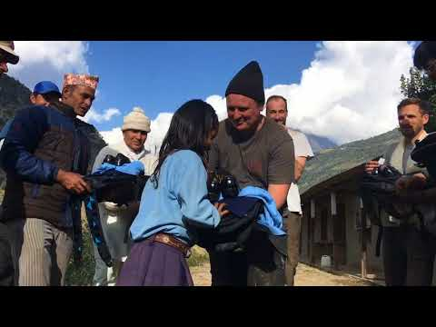 Nepal, Juniper Trust Trek 2017. School Re-build project