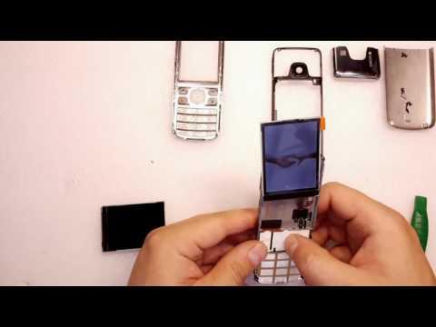 Nokia 6700 замена экрана