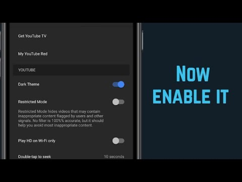 foto de How to enable Dark Thems on youtube without Root [ In Nepali ...