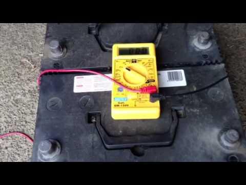 Battery reverse polarity