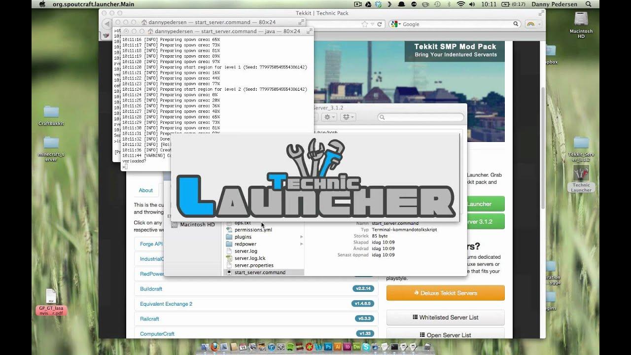 Tekkit minecraft mac free