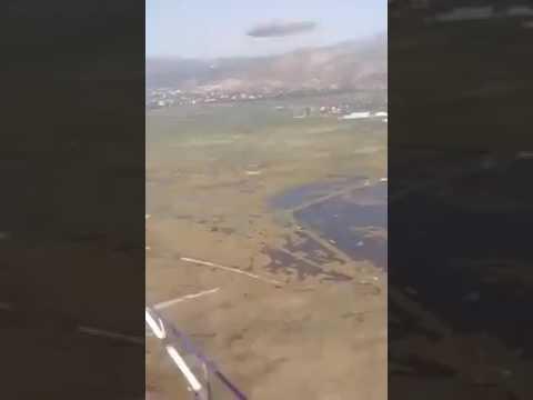 Πτώση ψεκαστικού ελικοπτέρου στο Σχοινιά- Νεκροί δύο επιβαίνοντες