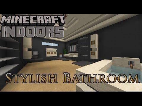 Stylish Bathrooms Minecraft Indoors Interior Design