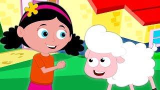 у Мэри был маленький ягненок детские стишки для детей Mary Had A Little Lamb песня в россии
