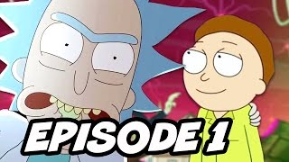 Rick and Morty Season 3 Episode 1 - Morty Slowly Becoming Like Rick Theory