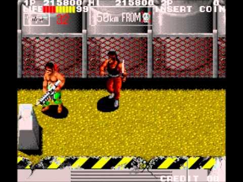 Ikari III - The Rescue (Arcade)