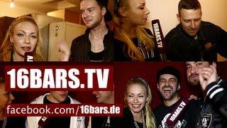 """Visa Vie unterwegs bei den """"50 schönsten Rappern"""" (16BARS.TV)"""