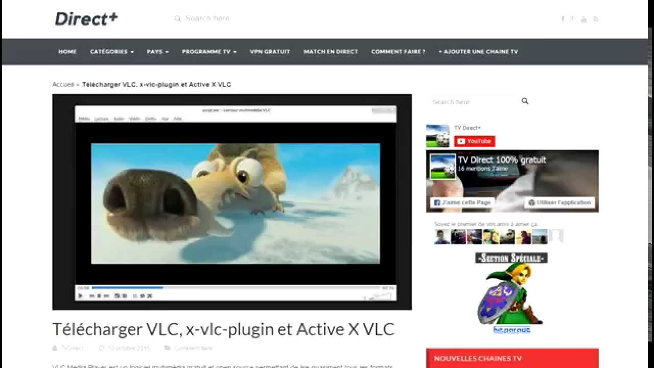 adsl tv vlc activex