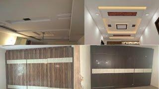 2 BHK Apartment Interior Design Small 2BHK Bedroom Wardrobe Living Room False ceiling design
