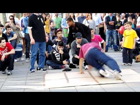 Breakdance in Stuttgart I.AVI