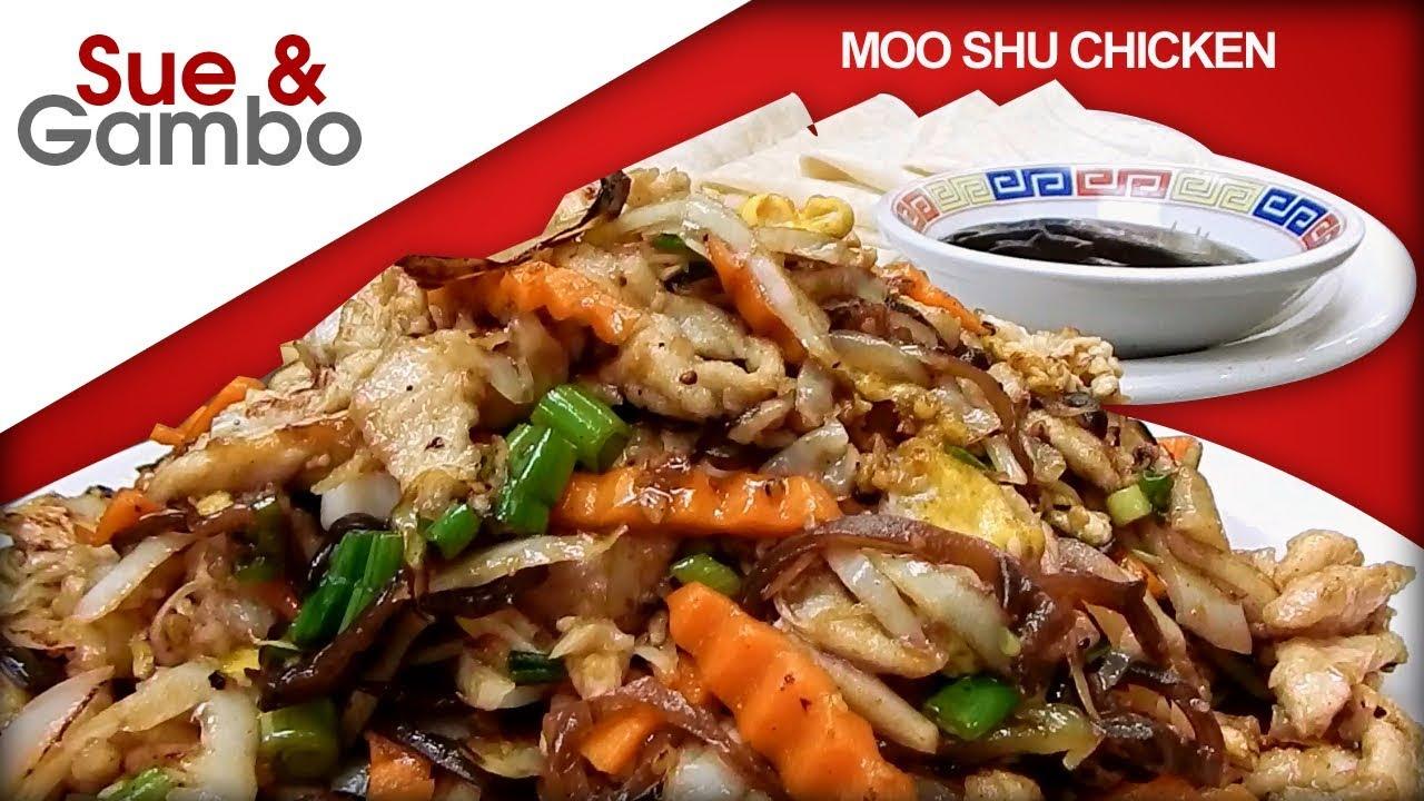 moo shu chicken stir fry recipe  asian wrap recipe  youtube