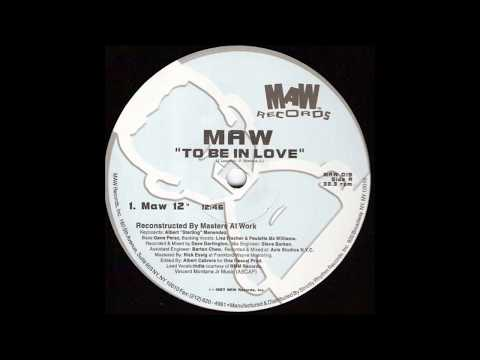 "Masters At Work Presents India - To Be In Love (Maw 12"")"