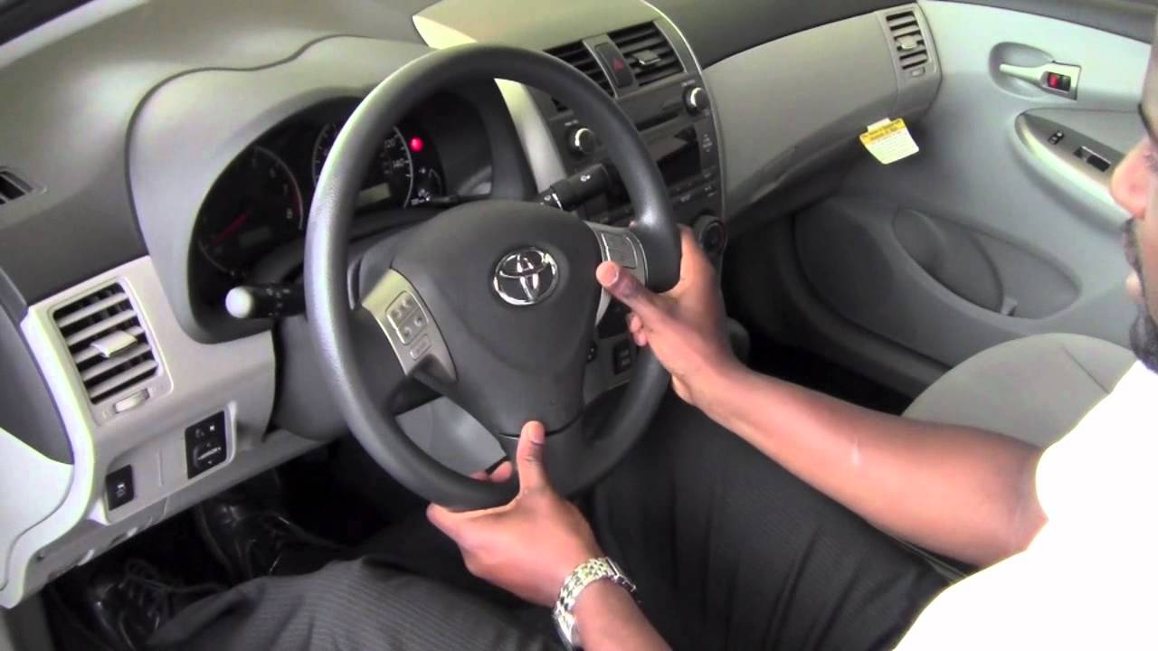 2011 Toyota Corolla Honk The Horn How To By Toyota