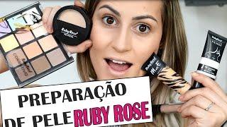 Preparação de pele com produtos BARATOS -  SÓ com Ruby Rose
