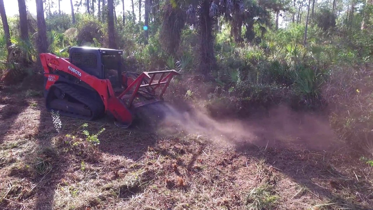 Forestry Mulching by Elite Grading & Site Work