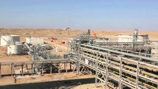Gazprom journey at Badra CPF Waset Iraq by Gazprom