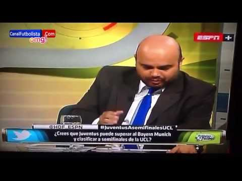 Epic Fail Andrés Marocco y Diego Norrea ESPN - Hablemos de Fútbol 2013 HD