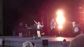 Bridgit Mendler LIVE IN HD! Concert Oregon State Fair Salem, Oregon 2013 PART 1