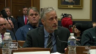 Jon Stewart's 9/11 Testimony Moves House to Pass Bill | The View