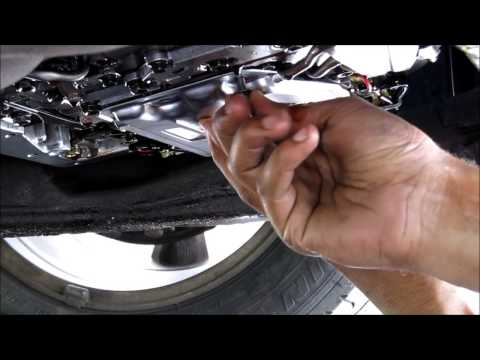 Transmission Filter & Gasket Replacement Toyota Camry V6
