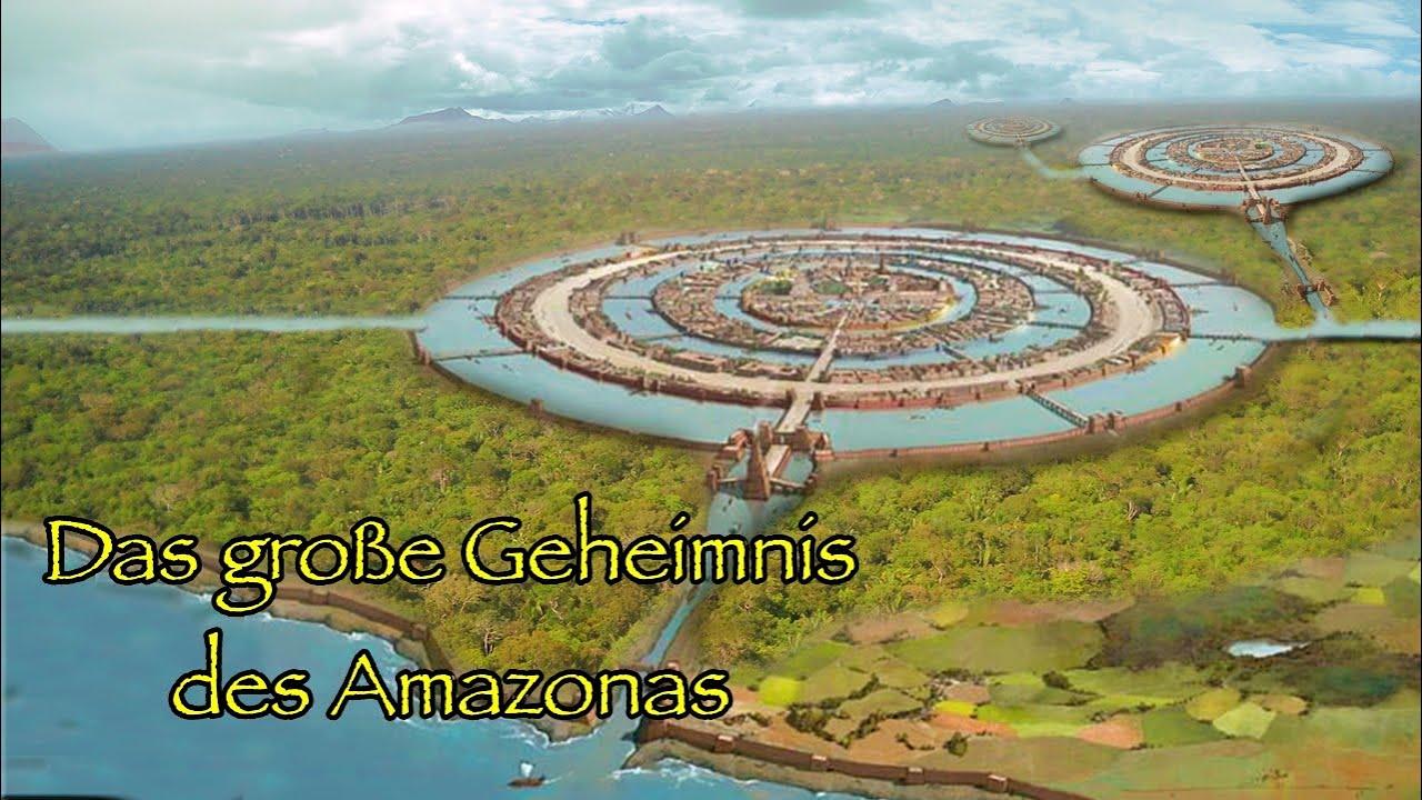 Der Amazonas Verbirgt Ein Großes Geheimnis Im Untergrund