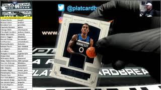 2017-18 Panini National Treasures Basketball 4 Box Case PYT #1