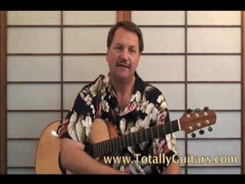 Mini Lesson Uncle Johns Band , The Grateful Dead acoustic guitar lesson part 1