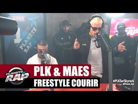 PLK & Maes - Freestyle 'Courir' #PlanèteRap
