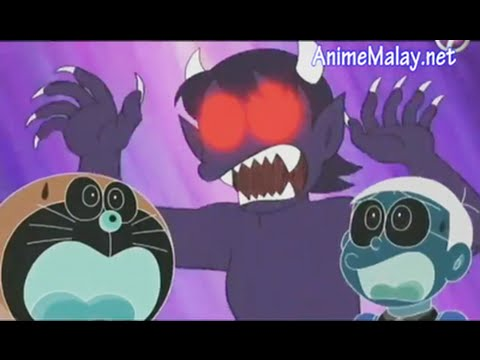 Mama Nobita Mengamuk Yang MENYERAMKAN - Doraemon Bahasa Melayu