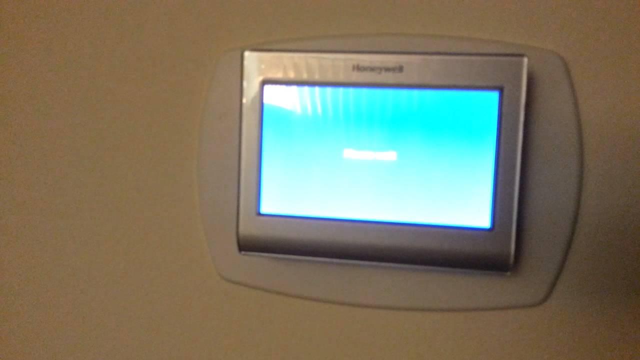 Honeywell Rth9580wf Youtube 91 Honda Crx Stereo Wiring Diagram Wifi Thermostat Problem