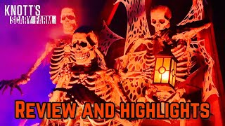 KNOTT'S SCARY FARM 2019 Full Review and Highlights
