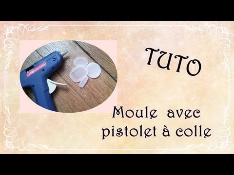 tuto faire ses moules avec un pistolet colle youtube. Black Bedroom Furniture Sets. Home Design Ideas