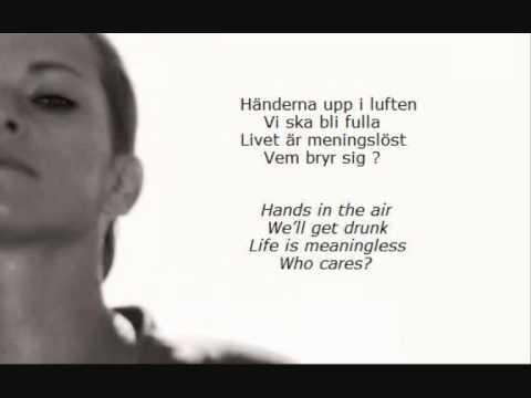 Petra Marklund - Händerna mot himlen (English & Swedish lyrics)